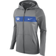 Nike Women's Kentucky Wildcats Grey Full-Zip Hoodie