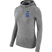 Nike Women's Kentucky Wildcats Grey Element Dry Quarter-Zip Hoodie