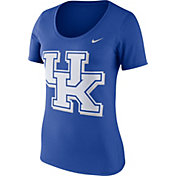 Nike Women's Kentucky Wildcats Blue Modern Sport Scoop Neck T-Shirt