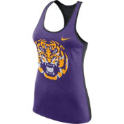 Nike Women's LSU Tigers Purple Dri-FIT Touch Tank Top