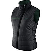 Nike Women's Michigan State Spartans Black Reversible Vest