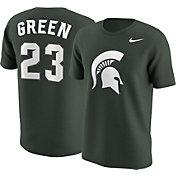 Nike Men's Michigan State Spartans Draymond Green #23 Green Future Star Replica Basketball Jersey T-Shirt