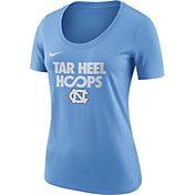Nike Women's North Carolina Tar Heels Carolina Blue 'Tar Heel Hoops' Basketball T-Shirt