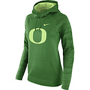 Nike Women's Oregon Ducks Apple Green All Time Therma-FIT Hoodie