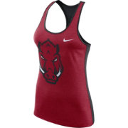Nike Women's Arkansas Razorbacks Cardinal Dri-FIT Touch Tank Top