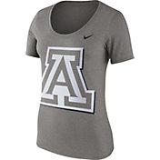 Nike Women's Arizona Wildcats Grey Modern Sport Scoop Neck T-Shirt