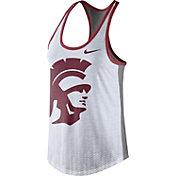 Nike Women's USC Trojans White Dri-Blend Tank Top