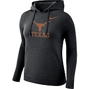 Nike Women's Texas Longhorns Club Black Pullover Hoodie