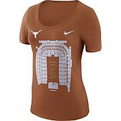 Nike Women's Texas Longhorns Burnt Orange Local Imagery Football T-Shirt