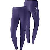 Nike Women's Washington Huskies Purple Pro Tights