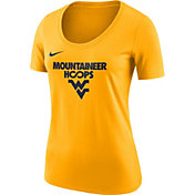 Nike Women's West Virginia Mountaineers Gold 'Mountaineer Hoops' Basketball T-Shirt