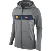Nike Women's West Virginia Mountaineers Grey Full-Zip Hoodie