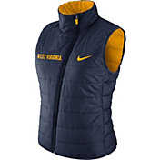 Nike Women's West Virginia Mountaineers Blue Reversible Vest