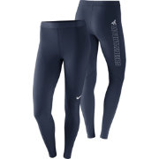 Nike Women's West Virginia Mountaineers Blue Pro Tights