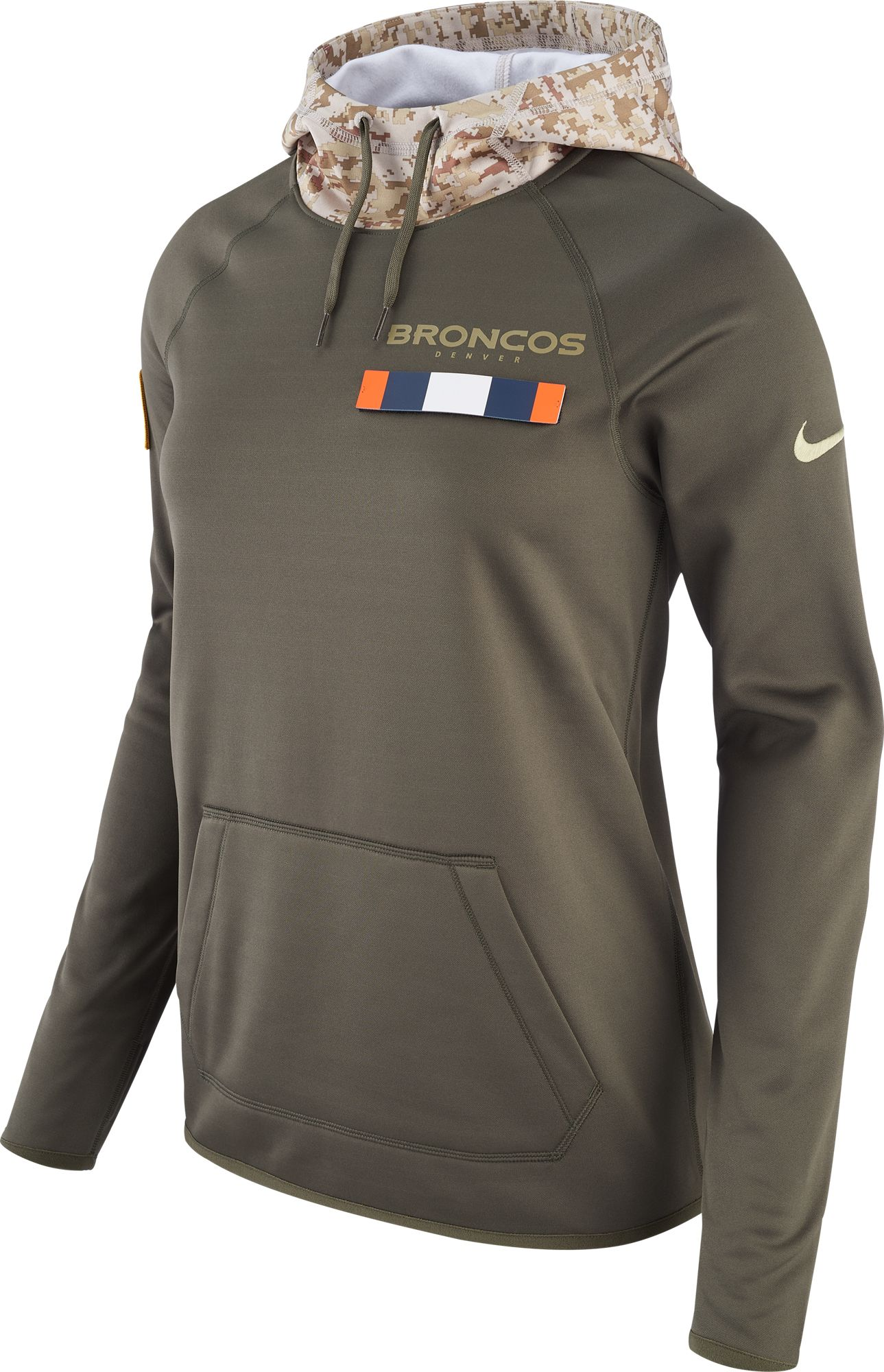 Nike Women's Denver Broncos Salute to Service 2017 Therma-FIT Performance  Hoodie. 0:00. 0:00 / 0:00. noImageFound ???
