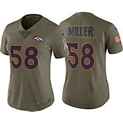 Nike Women's Home Limited Salute to Service Denver Broncos Von Miller #58 Jersey