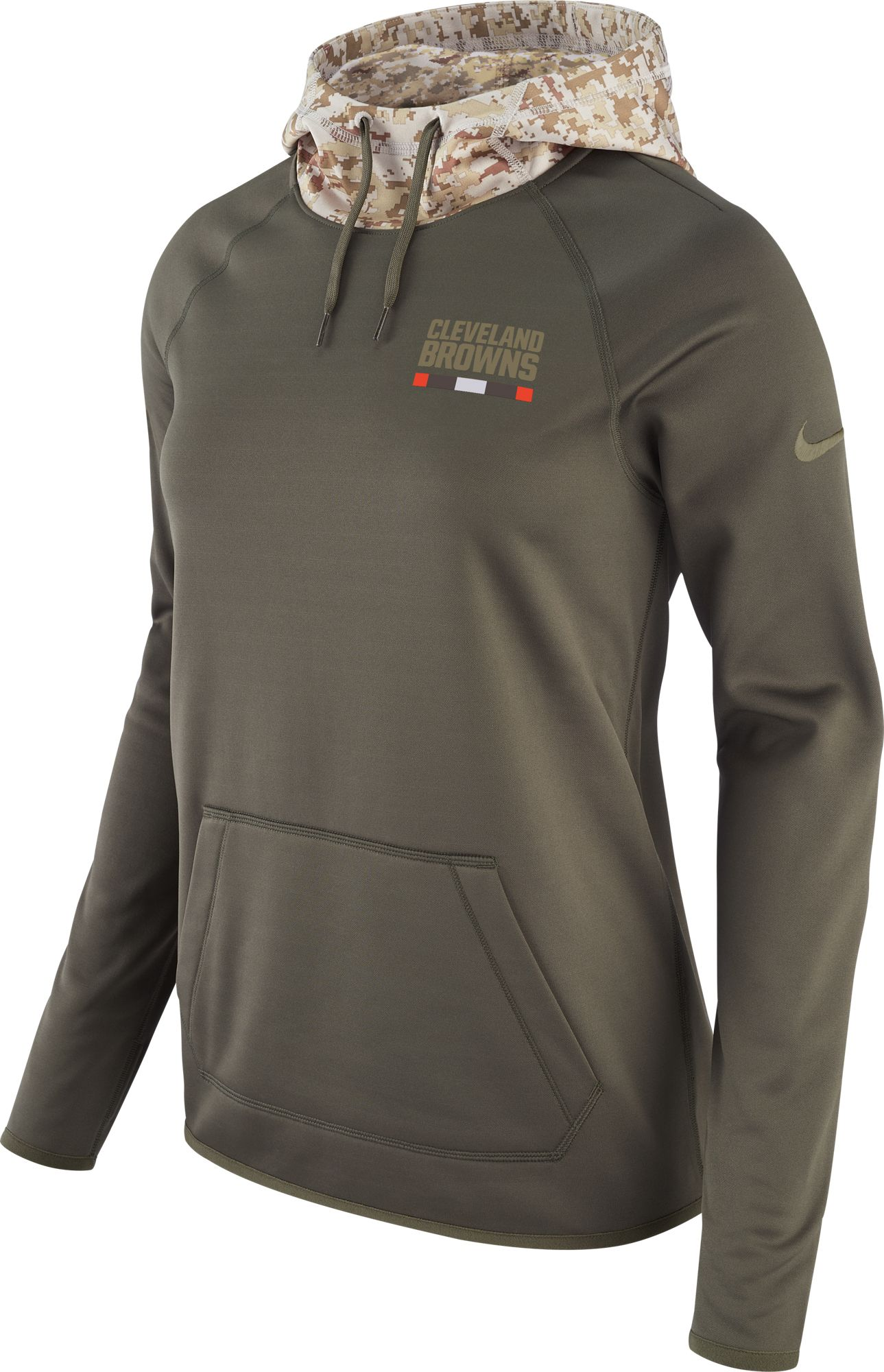 Pullover Cleveland Black Hoodie Kick Browns Off Staff Performance Mens