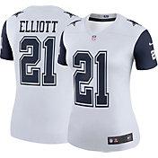 Nike Women's Color Rush 2017 Legend Jersey Dallas Cowboys Ezekiel Elliott #21