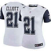 Nike Women's Color Rush 2017 Legend Jersey Dallas Cowboys Ezekiel Elliott #21