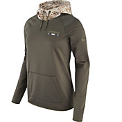 Nike Women's Dallas Cowboys Salute to Service 2017 Therma-FIT Performance Hoodie