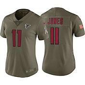 Nike Women's Home Limited Salute to Service 2017 Atlanta Falcons Julio Jones #11 Jersey