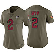 Nike Women's Home Limited Salute to Service Atlanta Falcons Matt Ryan #2 Jersey