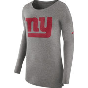 Nike Women's New York Giants Cozy Grey Long Sleeve Shirt