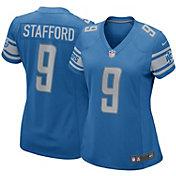 Nike Women's Home Game Jersey Detroit Lions Matthew Stafford #9