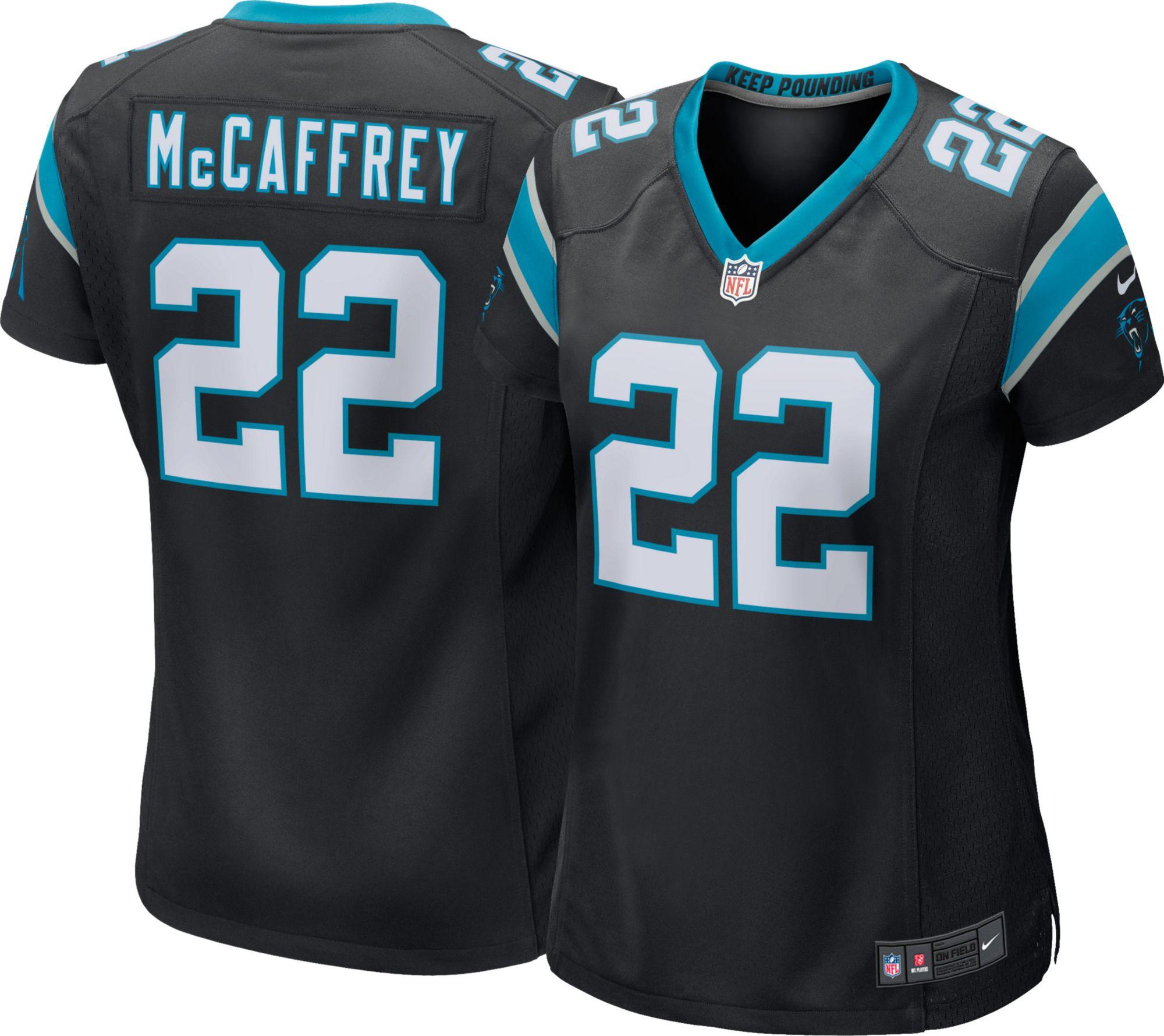 4484e844 ... Nike Womens Home Game Jersey Carolina Panthers Christian McC Mens Nike  Carolina Panthers 22 Christian McCaffrey ...