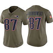 Nike Women's Home Limited Salute to Service New England Patriots Rob Gronkowski #87 Jersey