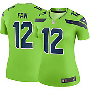 Nike Women's Color Rush Legend Jersey Seattle Seahawks Fan #12