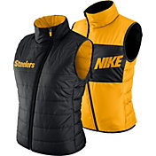 Nike Women's Pittsburgh Steelers Sideline 2017 Reversible Black Vest