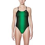 Nike Women's Fade Sting V-Back Swimsuit