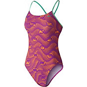 Nike Women's Far Out Cut-Out Swimsuit