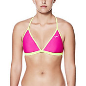 Nike Women's Adjustable T-Back Bikini Top