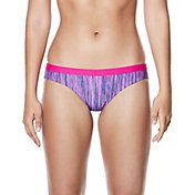 Nike Women's Rush Heather Sport Bikini Bottom
