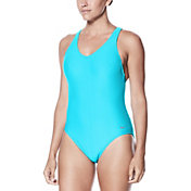 Nike Women's Rib Racerback Swimsuit