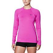 Nike Women's Long Sleeve Hydro Rash Guard