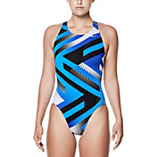 Nike Women's Tidal Riot Fast Back Swimsuit