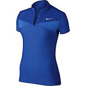 Nike Women's Zonal Cooling Swing Knit Golf Polo