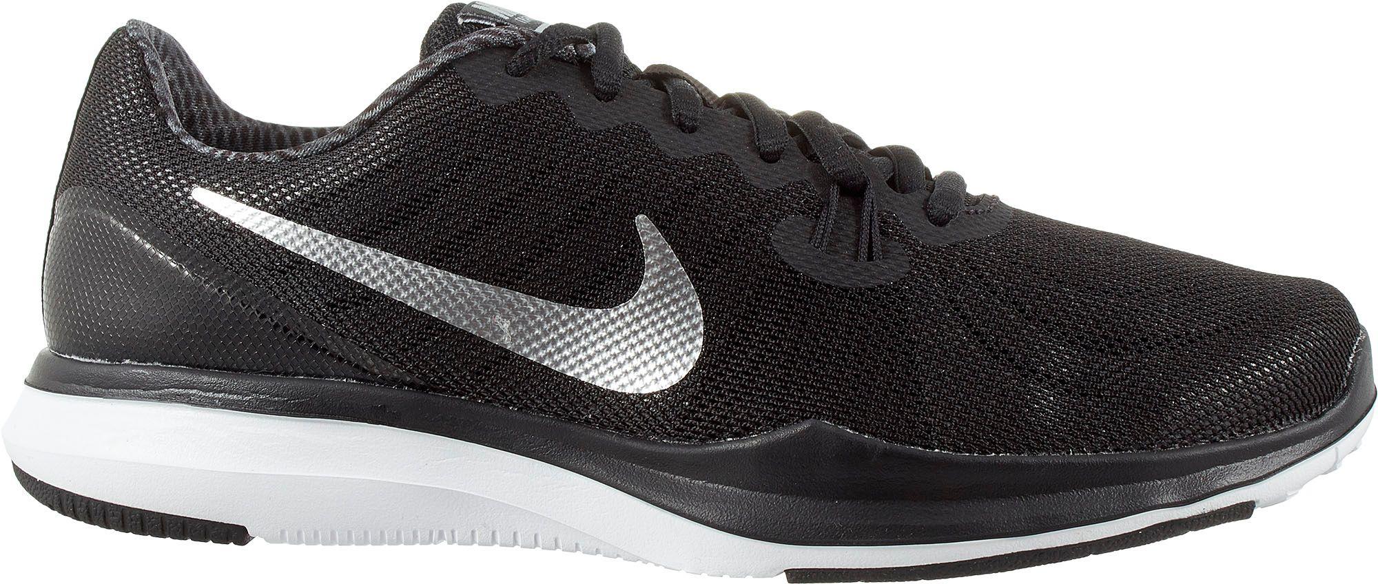 Nike In-Season TR 4 Print Trainers Womens Sports footwear Womens Trainers  COLOUR-black grey white 1e20f2cd0