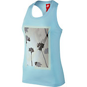 Nike Women's Photo Racerback Graphic Tank Top