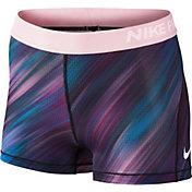 Nike Women's 3'' Pro Cool Light Streak Printed Shorts