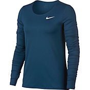 Nike Women's Pro Cool Long Sleeve Training Shirt