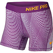 Nike Girls' 4'' Pro Cool Tempest Printed Shorts