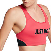 Nike Women's Pro Classic Padded Logo Sports Bra