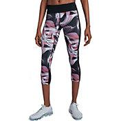 Nike Women's Power Printed Crop Running Tights