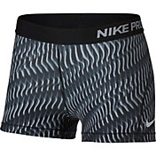 Nike Women's 3'' Pro Rainbow Wave Printed Shorts