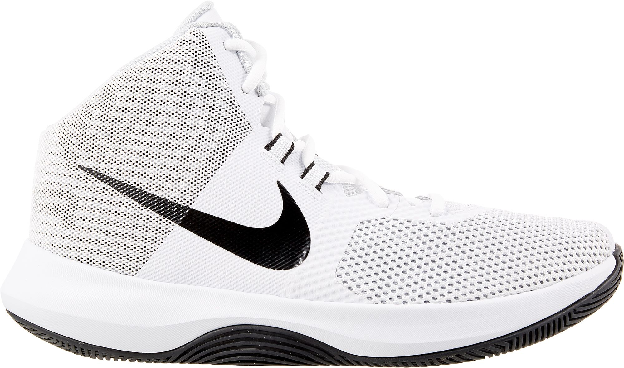 Product Image · Nike Women's Air Precision Basketball Shoes. White; Black