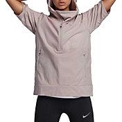 Nike Women's Shield Seasonal Short Sleeve Running Jacket